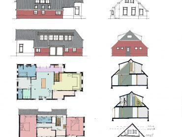 Schets Ontwerp Architect Assen